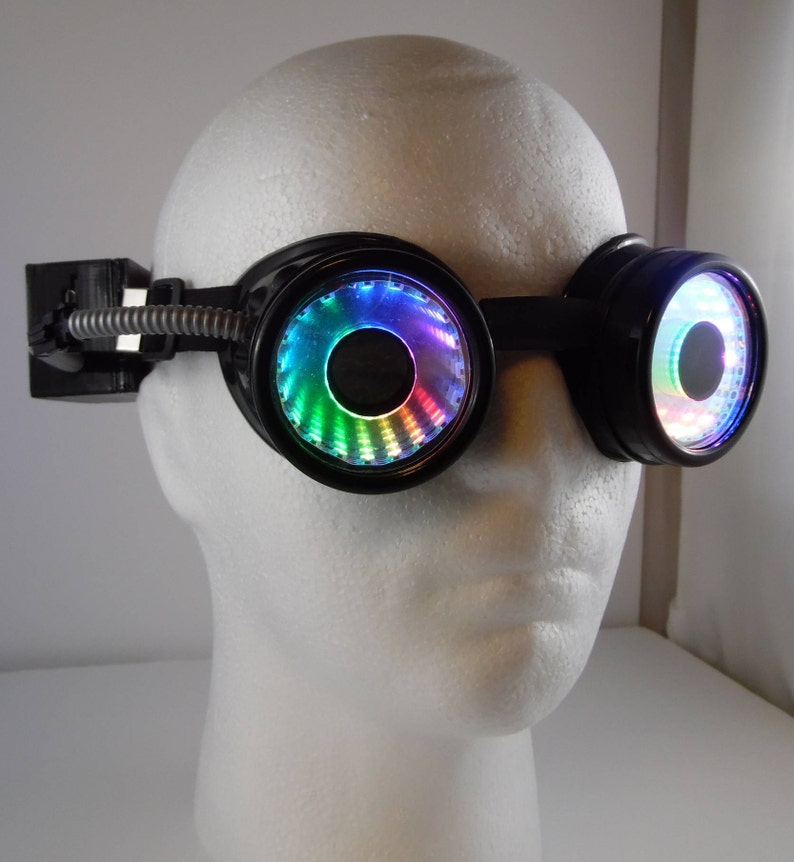 LED infinity Goggles V 2 0 see throughable