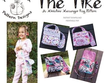 The Tike-Miniature Messenger Bag PDF Sewing Pattern