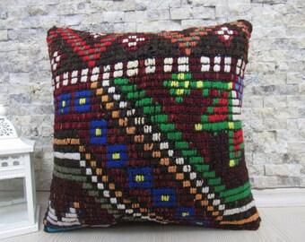 16x16 kilim pillow