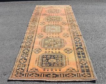 runner rug Free Shipping 4.3 x 11.4 ft vintage hallway rug oushak rug zd1703 bohemian rug,corridor rug  ethnic runner rug boho rug