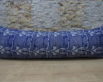 dark blue colored rug pillow case 16x48 wonderful color turkish pillow bohemian kilim pillow turkish decorative bedding pillow code 048