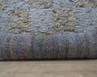 stone colored organic bedding kilim pillow cover 16x48 large size kilim cushion boho pillow turkish kilim rug pillow code 099