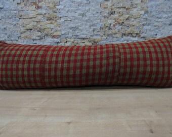 natural color kilim pillow 16x48 decorative pillow morocco pillow tribal pillow throw pillow 16x48 sofa pillow turkey pillow kilim code 060