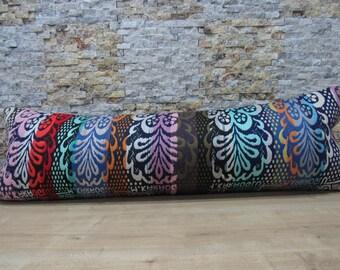kilim pillow nomadic pillow decorative turkish pillow bohemian home decor ethnic pillow floor pillow 16x48 rare antique pillow code 073