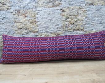 natural cotton handwoven kilim 16x48 decorative couch pillow floor pillow kilim cushion large size turkish pillow kilim pillow code 063