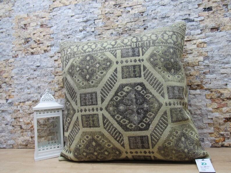 tribal pillow  naturel kilim pillow  28x28 bedding pillow  throw pillow  decorative pillow  anatolian pillow  wool pillow code 0300