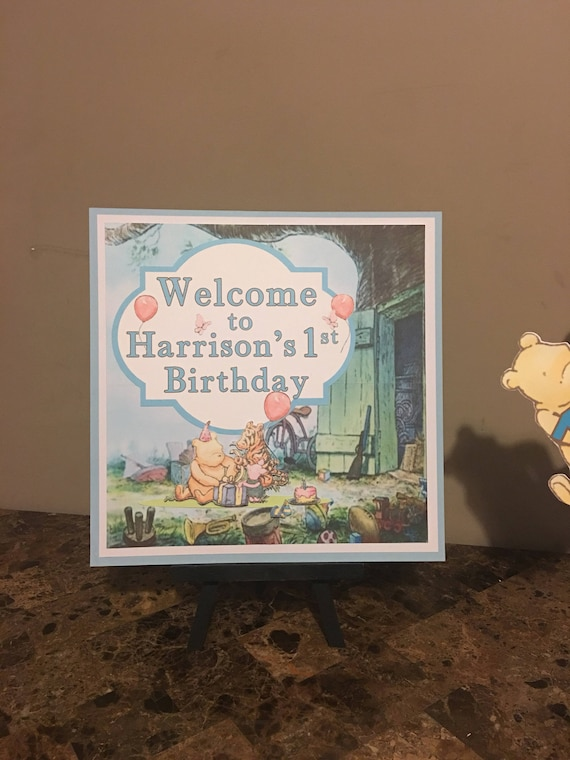 Classic Pooh Birthday Party Decorations