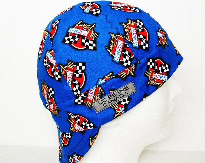 "22 5/8"" Nascar welders cap size 7 1/4 hard hat liner beanie skull cap construction tradesman gasfitter biker"