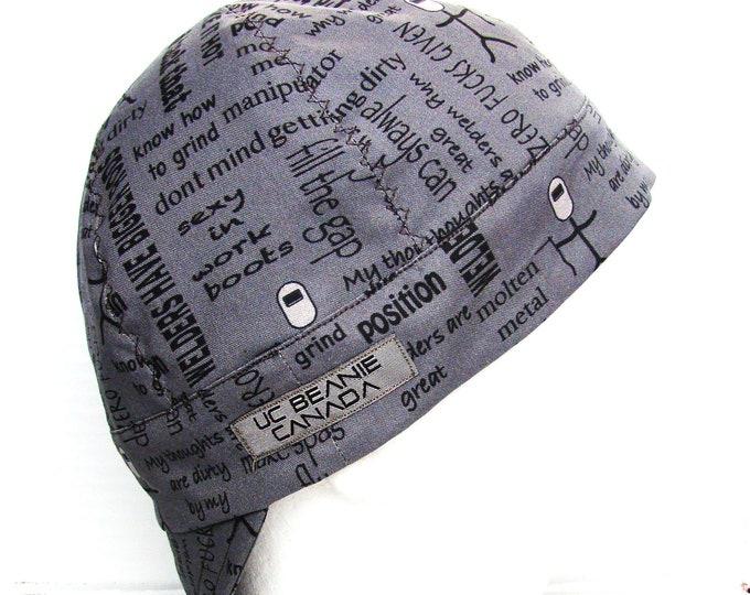 What Welders Say  welders cap hard hat liner beanie skull cap construction tradesman gas fitter biker