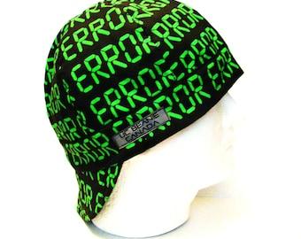 "24"" Error welders cap size 7 5/8 hard hat liner beanie skull cap construction tradesman gas fitter biker"