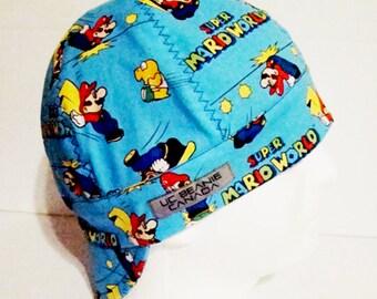 712d608e68a Super Mario beanie welders cap hard hat liner beanie skull cap construction  tradesman gasfitter biker