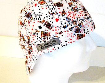 8ec5d894a9c Playing Card welders cap hard hat liner beanie skull cap construction  tradesman gasfitter biker