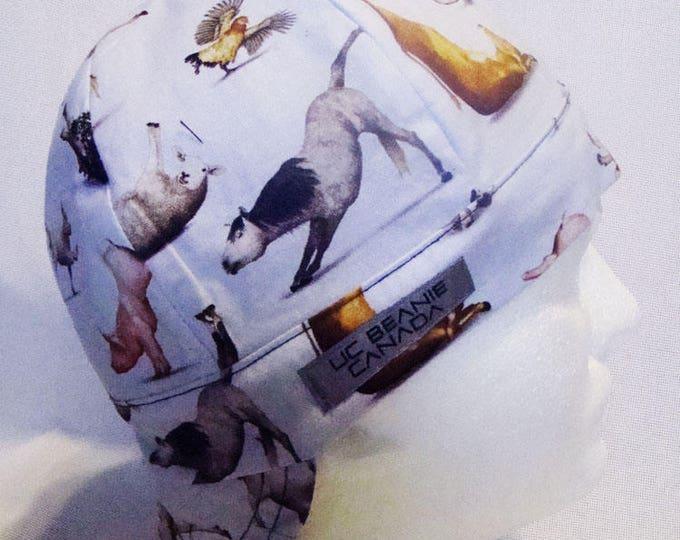 Farm Animals welders cap hard hat liner beanie skull cap construction tradesman gasfitter biker
