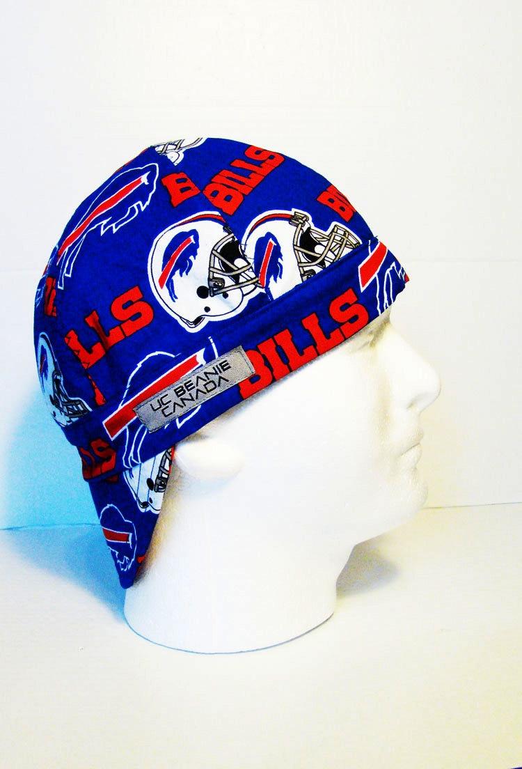 251389ebeae Buffalo Bills NFL welders cap hard hat liner beanie skull cap construction  tradesman gasfitter biker