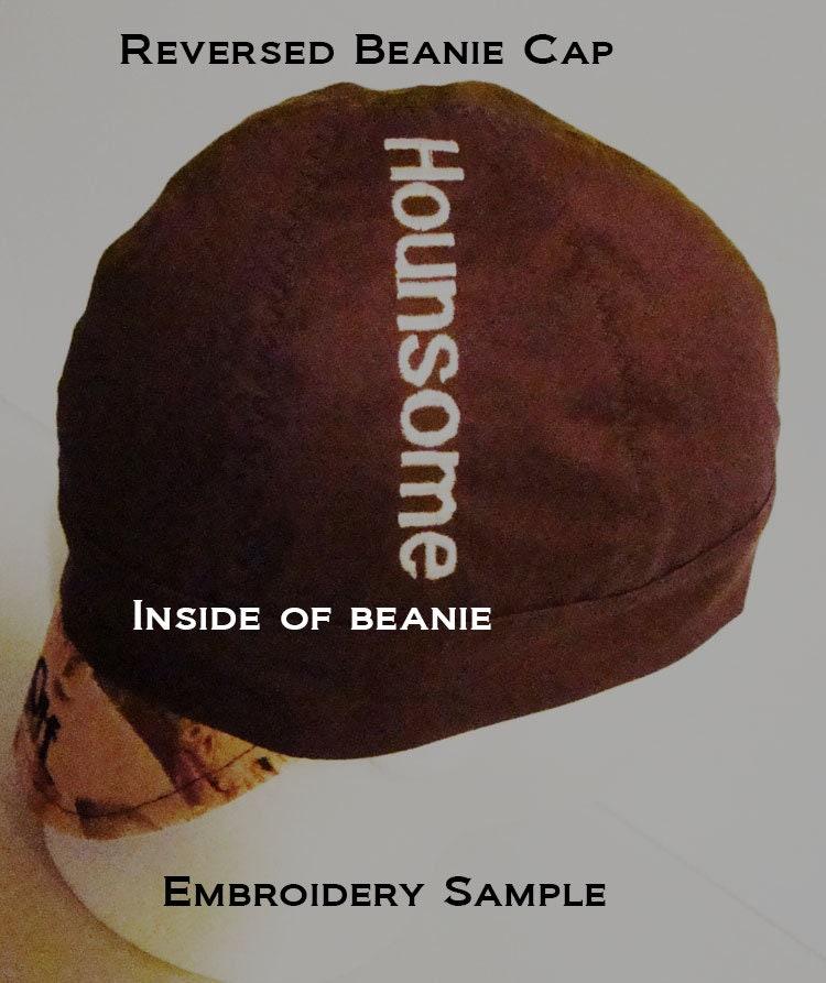 Teal welders cap hard hat liner beanie skull cap