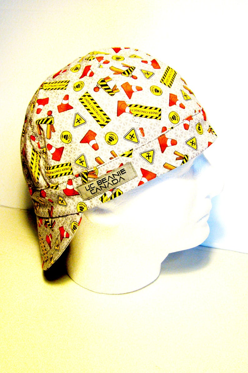 55156418ddeb6 Under Construction welders cap hard hat liner beanie skull cap