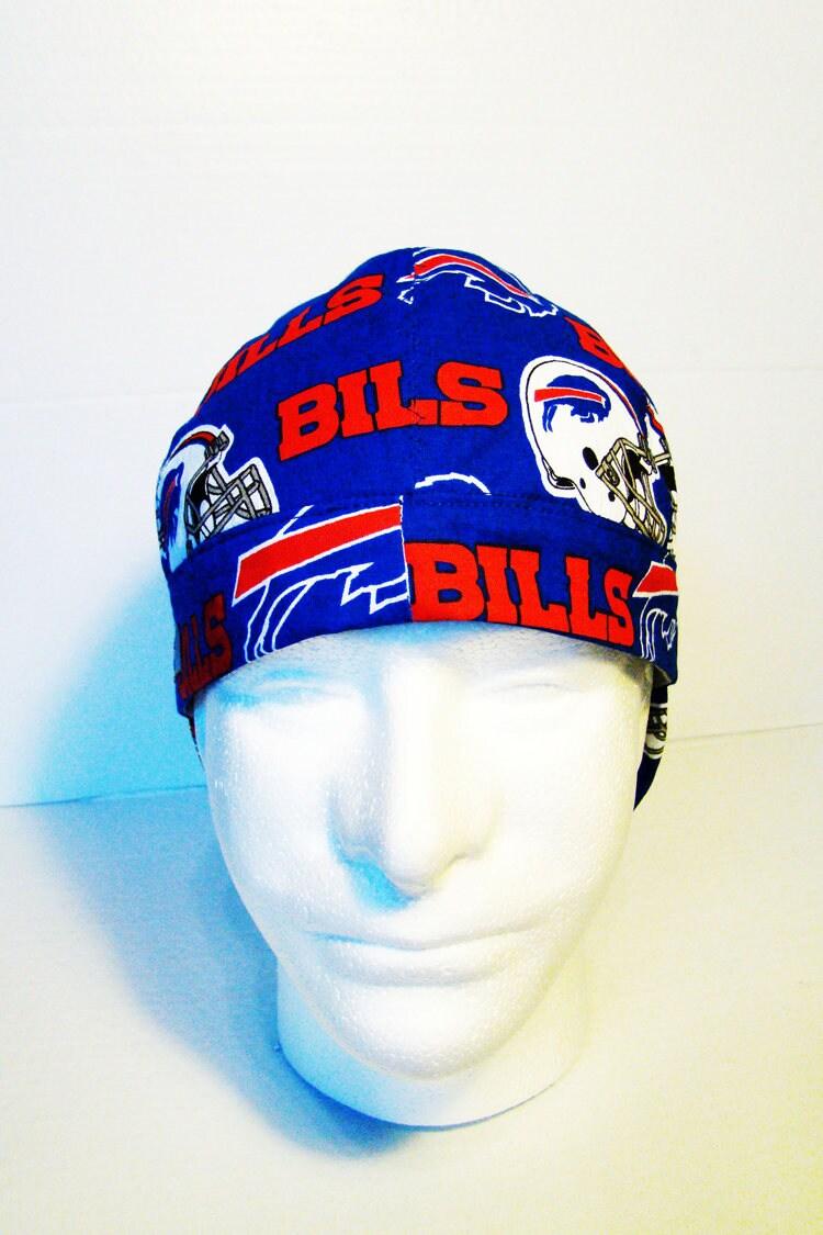350a00383aa Buffalo Bills NFL welders cap hard hat liner beanie skull cap construction  tradesman gasfitter biker. 1