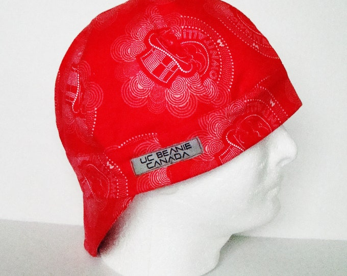"24"" Own it all Monopoly MC welders cap size 7 5/8 hard hat liner beanie skull cap construction tradesman gas fitter biker"
