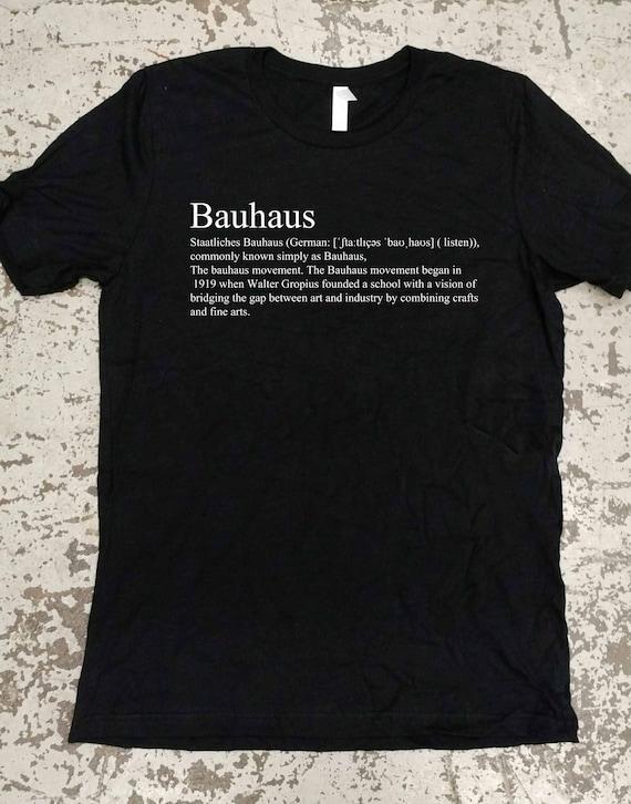 Bauhaus T Shirt Art Movement T Shirt Art T Shirt Unisex Etsy