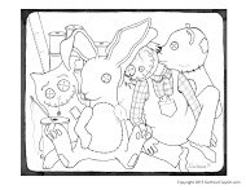 Bunny Learns To Sew image 0