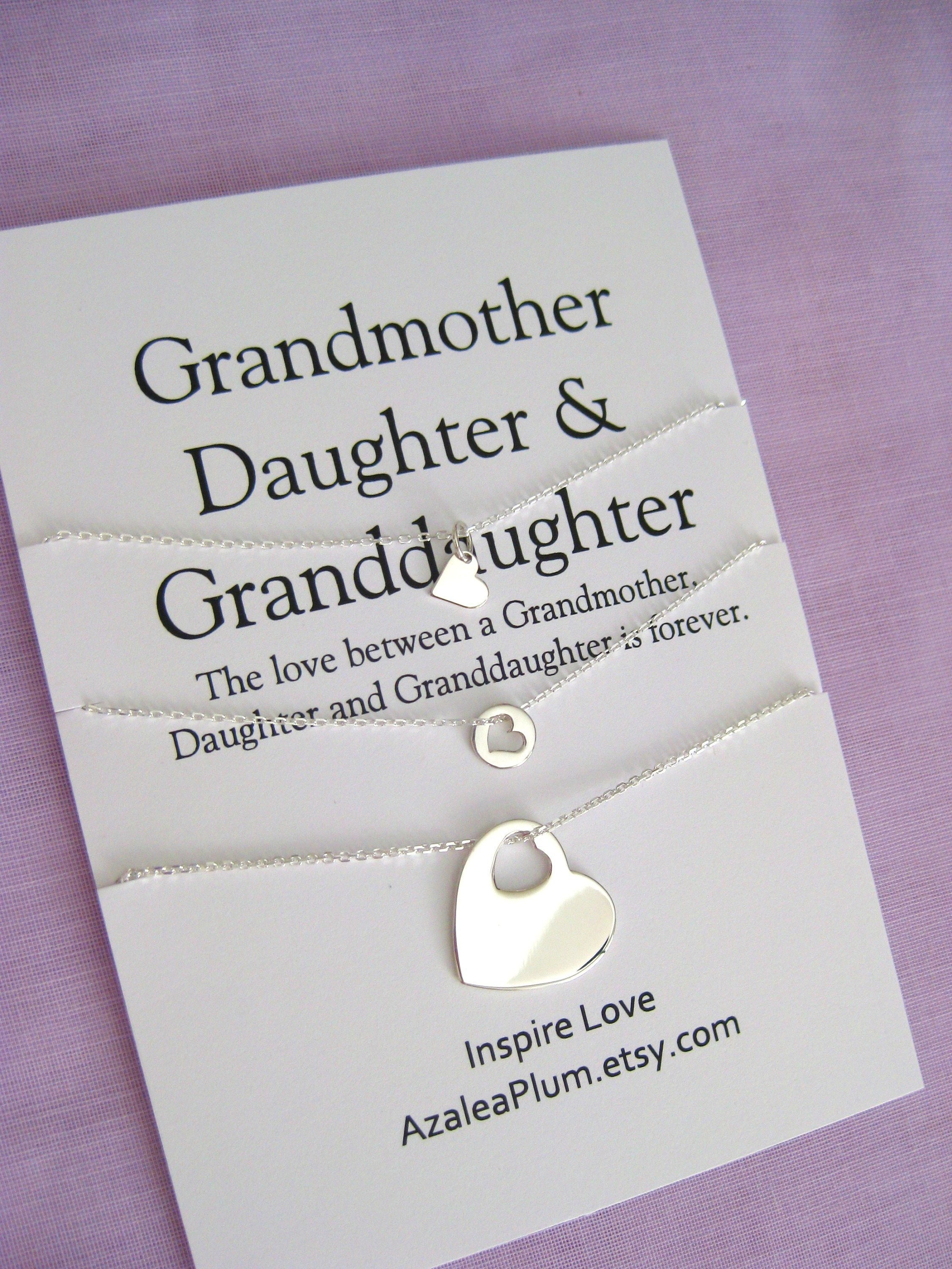 80th BIRTHDAY Gift Solid Sterling Silver Necklace Mom