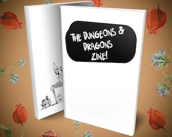 The Dungeons & Dragons Zine! Digital Download, eBook