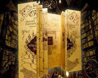 Carte Harry Potter maraudeur