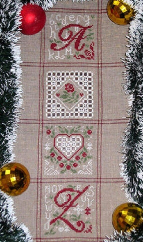 Daisy Christmas: Hardanger - HAR10 - Isabelle Haccourt Vautier embroidery chart
