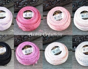 DMC: Beaded cotton n#8 - art 116 - ball 10g - 36 colors