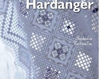 Delicate Hardanger embroidery - by Sadaka Totsuka - Editions of Saxony