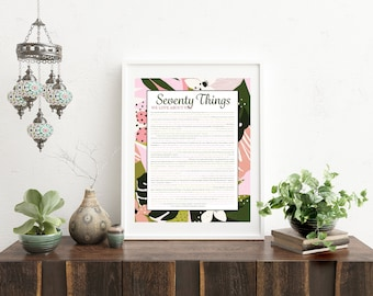 Things We Love About You - Tropical Pink
