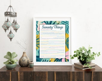 Things We Love About You - Tropical Aqua