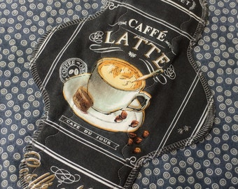 """10"""" Moderate, Waterproof Reusable Cloth Pad, Coffee, Other Sizes Available Upon Request"""