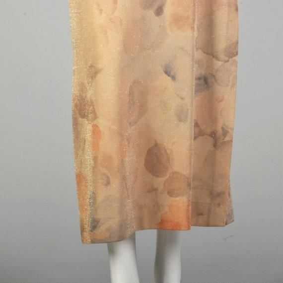 XS 1990s Prom Dress Sparkly Evening Dress Spaghet… - image 6