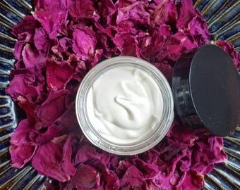 Organic Coconut Oil ~ Rose Facial Cream