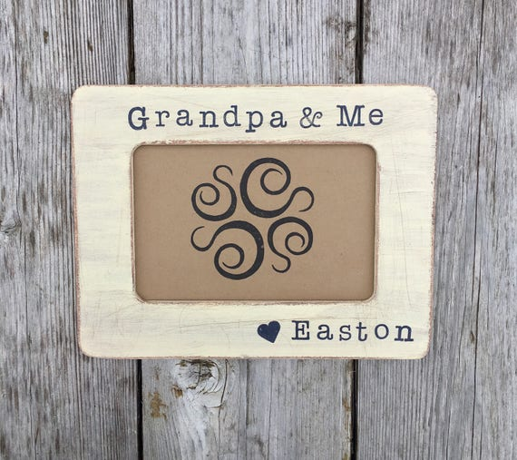 Grandpa Frame And Me Birthday Gifts