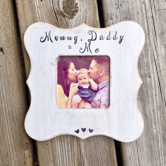 Mothers Day Frame Fathers Day Mommy Daddy Me Mothers Etsy