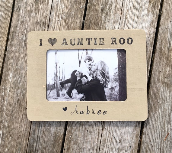 Aunt picture frames aunt from child gifts for aunts auntie | Etsy