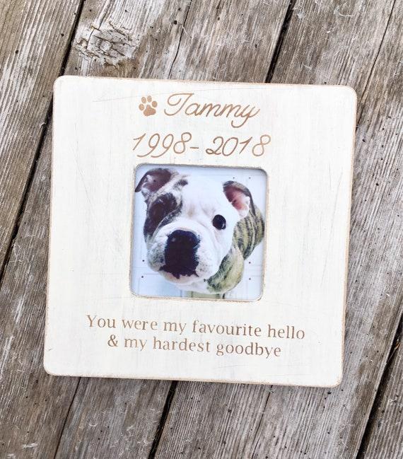 Pet memorial fur baby frames dog loss cat loss dog picture | Etsy