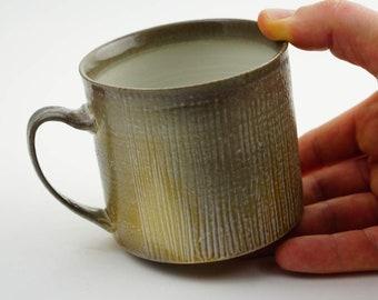 Coffee/Tea Cup - Soda Fired
