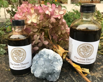 The Iron Throne Syrup Herbal Tonic