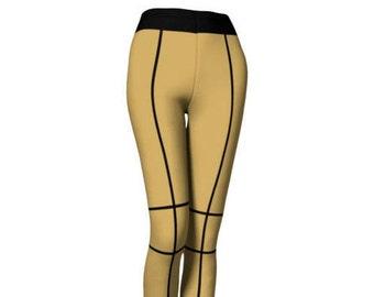 Leeloo Cosplay Leggings - Leeloo, 90's Leggings, Leeloo Costume, Costume Party, Leeloo Pants, Sci-Fi