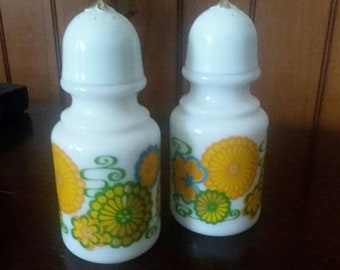 1970s Salt and Pepper Shakers