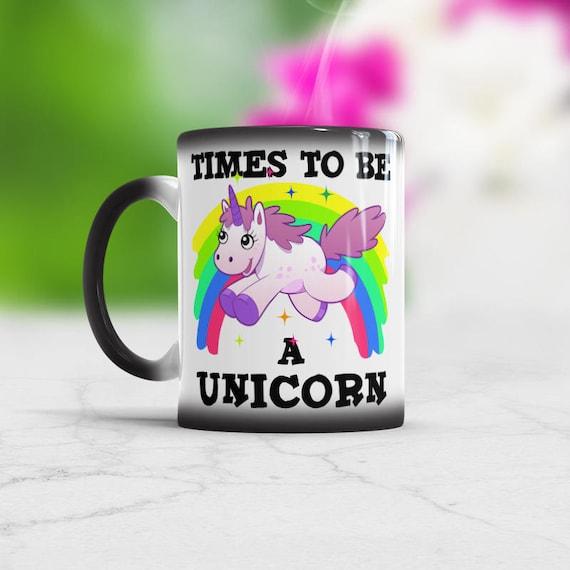 Raisons d/'être une licorne Funny Poop Rainbow Mug Café Thé Tasse Bureau Boisson Cadeau