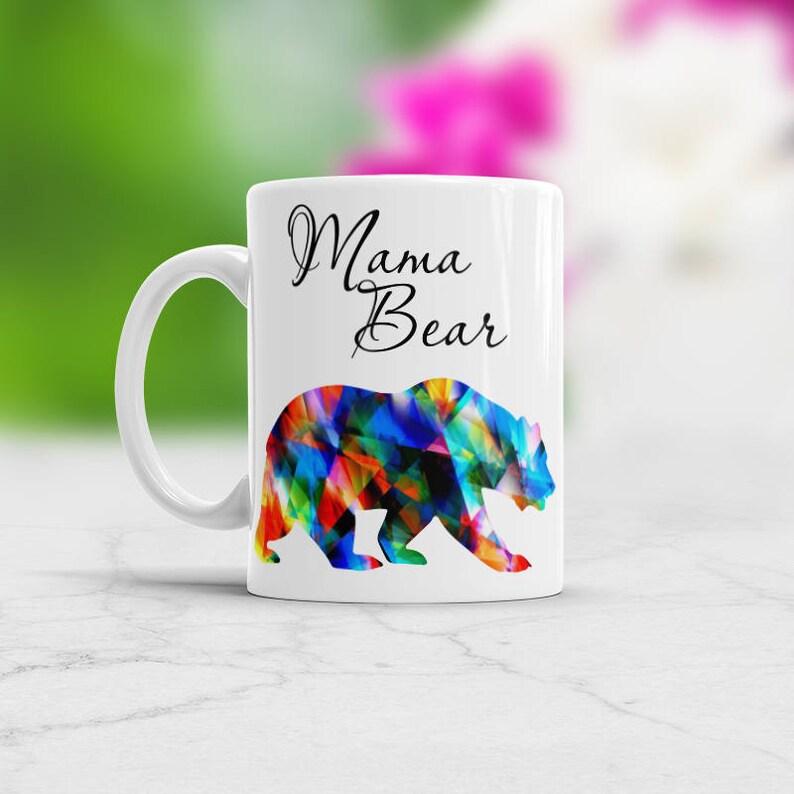 Mama Bear Unique Coffee Mug Birthday Mom Gift Idea New