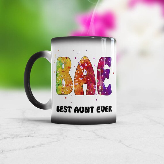 Mothers Day Gift Ideas For Aunt Bae Mug Best Aunt Ever Coffee Mug Aunt Gifts For Niece Aunt Announcement Gift Aunt Birthday Gift