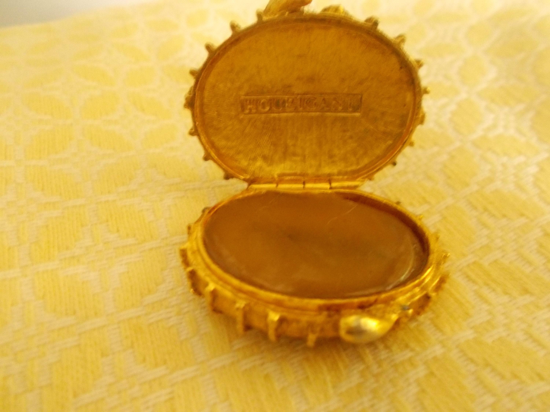 Vintage Houbigant Parfum Trinket Box
