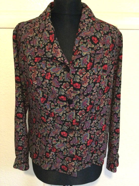 1960s blouse