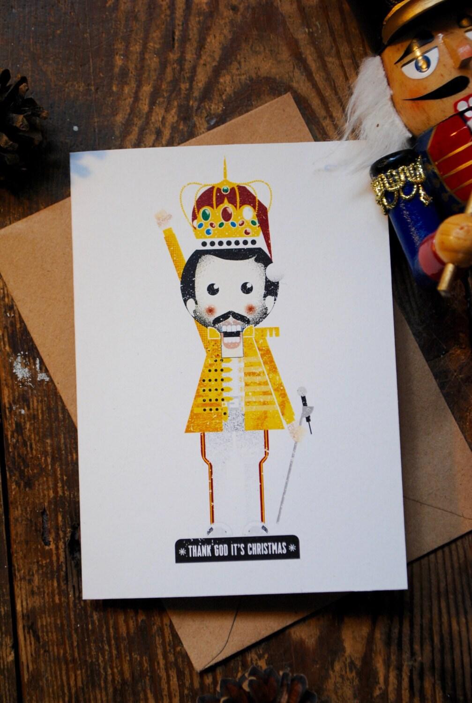 Thank God It\'s Christmas Freddie Mercury Queen | Etsy