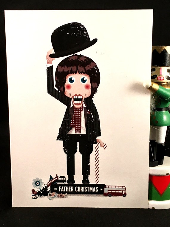 Father Christmas The Kinks.Father Christmas Ray Davies The Kinks Nutcracker Rockers Christmas Card